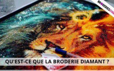 Qu'est-ce que la Broderie Diamant ?