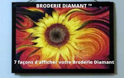 7 Façons D'encadrer Votre Broderie Diamant