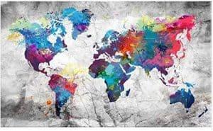 broderie diamant map monde grande taille carte du monde peinture diamant