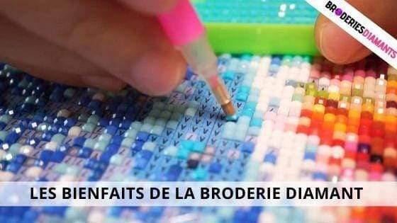 Les Bienfaits De La Broderie Diamant Sur La Santé.