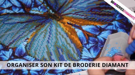 Organiser son Kit De Broderie Diamant