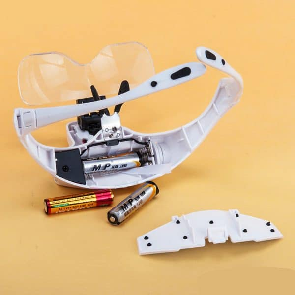 Broderie Diamant Lunette Loupe LED 1
