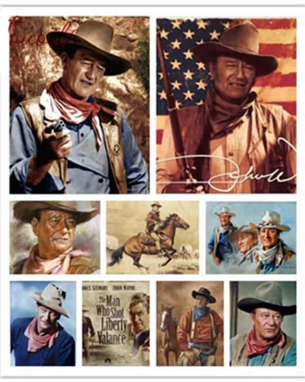 Broderie Diamant John Wayne