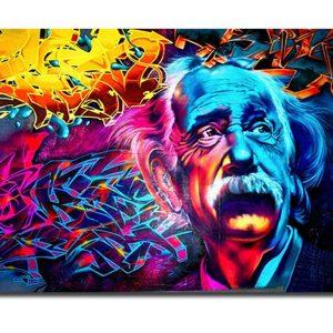 Broderie Diamant Albert Einstein