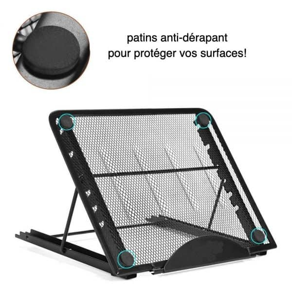 Accessoire Broderie Diamant Support A4 LED patins anti derapant