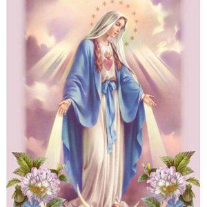broderie diamant femme religieuse